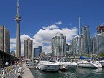 De waterkant van Toronto ` s Royalty-vrije Stock Afbeelding