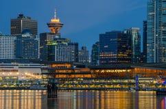 De Waterkant van Vancouver Stock Fotografie