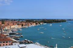 De waterkant van Venetië Royalty-vrije Stock Afbeeldingen