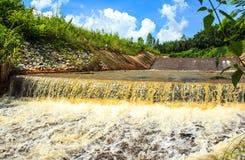 De Waterkering van het overstromingswater Royalty-vrije Stock Fotografie