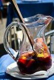 De waterkruik van de sangria Stock Afbeelding