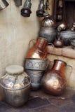 De waterkruiken van Antigues Stock Afbeelding