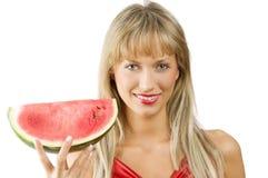 De watermeloen Stock Foto