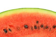 De watermeloen isoleert op witte achtergrond Royalty-vrije Stock Afbeeldingen