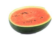 De watermeloen isoleert op witte achtergrond Royalty-vrije Stock Foto's