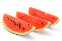De watermeloen isoleert op witte achtergrond Royalty-vrije Stock Fotografie