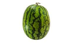 De watermeloen isoleert op witte achtergrond met het knippen van weg Royalty-vrije Stock Foto's