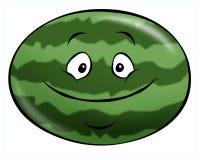 De Watermeloen van het beeldverhaal Royalty-vrije Stock Fotografie