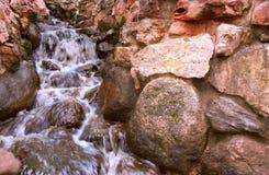 De waterval Stock Foto's