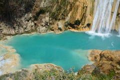 De Waterval Chiapas Mexico van Gr Chiflon stock afbeeldingen