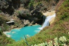 De Waterval Chiapas Mexico van Gr Chiflon royalty-vrije stock foto's
