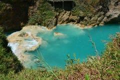 De Waterval Chiapas Mexico van Gr Chiflon royalty-vrije stock afbeelding