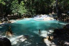 De Waterval Chiapas Mexico van Gr Chiflon royalty-vrije stock fotografie