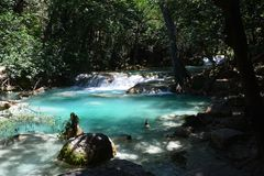 De Waterval Chiapas Mexico van Gr Chiflon royalty-vrije stock foto