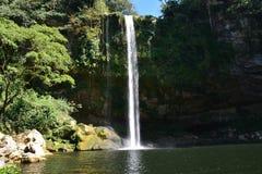 De Waterval Chiapas Mexico van Misolha royalty-vrije stock fotografie