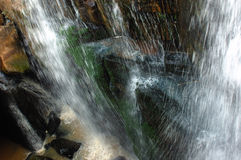 De waterval Karfiguela in Burkina Faso Stock Fotografie