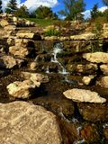 De waterval lang schot van Missouri Stock Foto