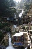 De Waterval Mussoorie van de Dalingen van Kempty in India Royalty-vrije Stock Fotografie