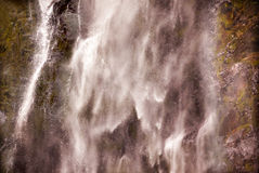 De Waterval Oregon van Multnomah van de stroomversnelling royalty-vrije stock foto