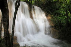 Waterval in Thailand Stock Foto
