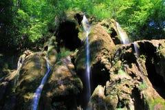 De Waterval van Beusnita Stock Afbeelding
