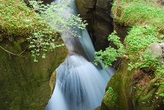 De waterval van Changbai stock foto's