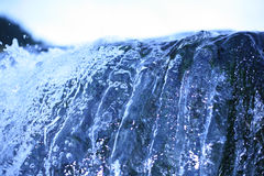 De waterval van de berg Stock Foto