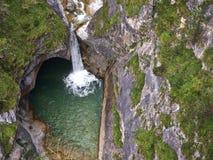 De waterval van de berg Royalty-vrije Stock Foto