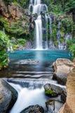 De waterval van de berghelling Stock Foto's