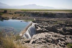 De waterval van de Cijevnarivier Stock Afbeelding