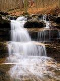 De Waterval van de de Molendam van Cagle, Indiana Stock Foto's
