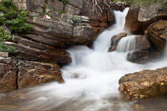 De waterval van de gletsjer Royalty-vrije Stock Fotografie