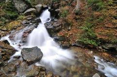 De waterval van de herfst Stock Foto