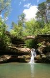 De Waterval van de Heuvels van Hocking stock afbeelding