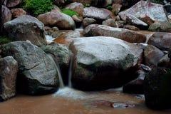 De Waterval van de Knul van Hin Royalty-vrije Stock Foto's