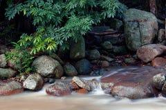 De Waterval van de Knul van Hin Stock Afbeeldingen