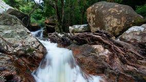 De Waterval van de Knul van Hin Stock Fotografie