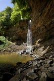 De Waterval van de Kracht van Hardraw - Yorkshire - Engeland royalty-vrije stock fotografie