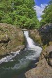 De waterval van de Kracht van Skelwith royalty-vrije stock afbeeldingen