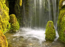 De waterval van de tuin Stock Fotografie