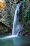 De waterval van de watermolen Stock Afbeeldingen