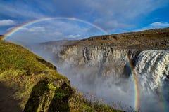 De Waterval van Dettifoss in IJsland Royalty-vrije Stock Foto's