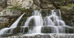 De waterval van Dolomiti Stock Afbeeldingen