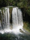 De Waterval van Duden in Turkije Stock Foto's