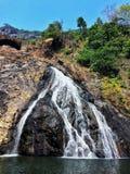 De Waterval van Dudhsagar stock foto