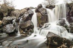 De waterval van ` Eisgraben ` in Duitsland Stock Foto's