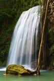 De Waterval van Eravan, Kanchanabury, Thailand Stock Afbeeldingen