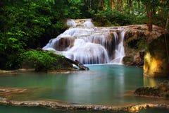 De Waterval van Erawan, Royalty-vrije Stock Foto