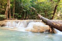 De Waterval van Erawan Stock Afbeelding