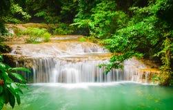 De Waterval van Erawan Royalty-vrije Stock Fotografie